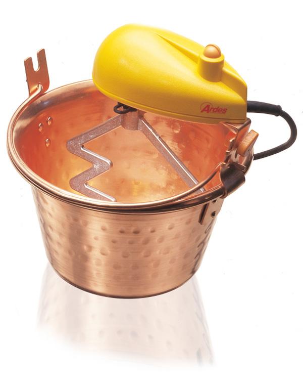 Ardes 2440 macchina per polenta 24 cm Rame