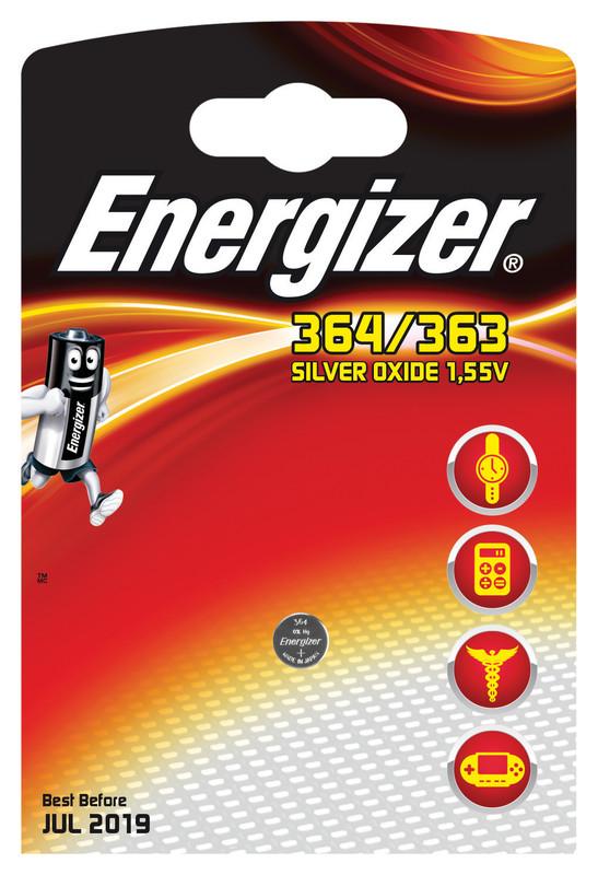 Energizer 364/363 Batteria monouso Ossido d'argento (S)