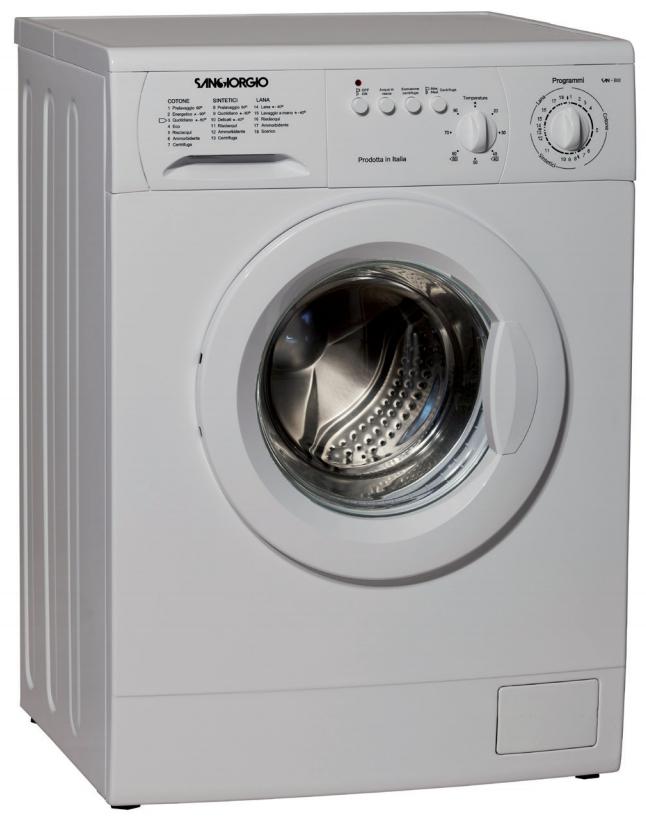 SanGiorgio S4210C lavatrice Caricamento frontale 5 kg 1000 Giri/min C Bianco