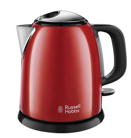 Russell Hobbs 24992-70 bollitore elettrico 1 L 2400 W Nero, Rosso
