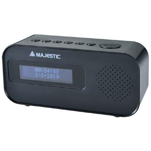 New Majestic RS-115 DAB Portatile Analogico e digitale Nero