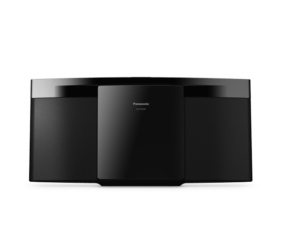 Panasonic SC-HC212 Microsistema audio per la casa 20 W Nero