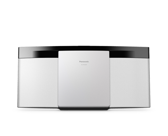 Panasonic SC-HC212 Microsistema audio per la casa Bianco 20 W