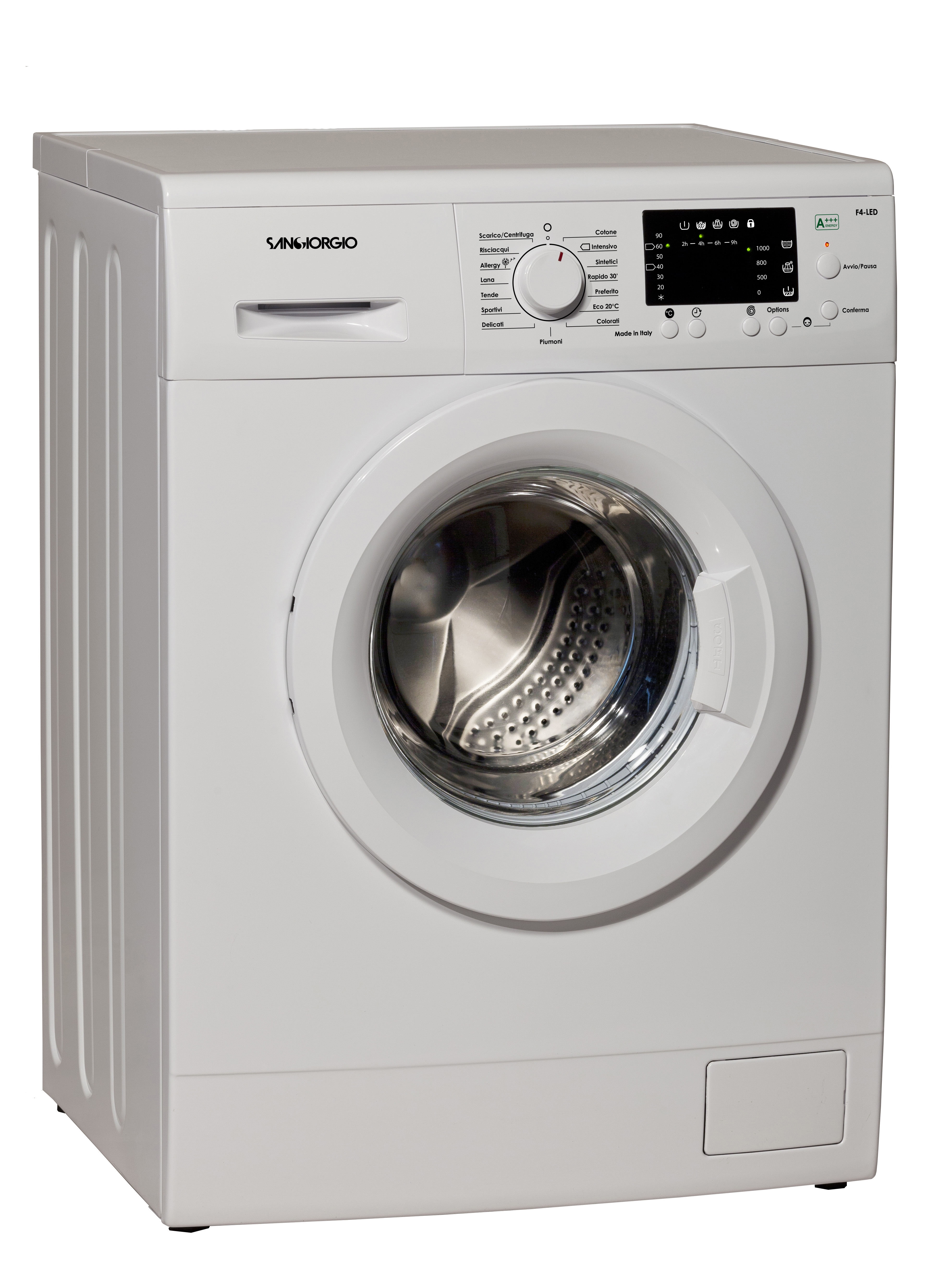 SanGiorgio F614BL lavatrice Caricamento frontale 6 kg 1400 Giri/min D Bianco