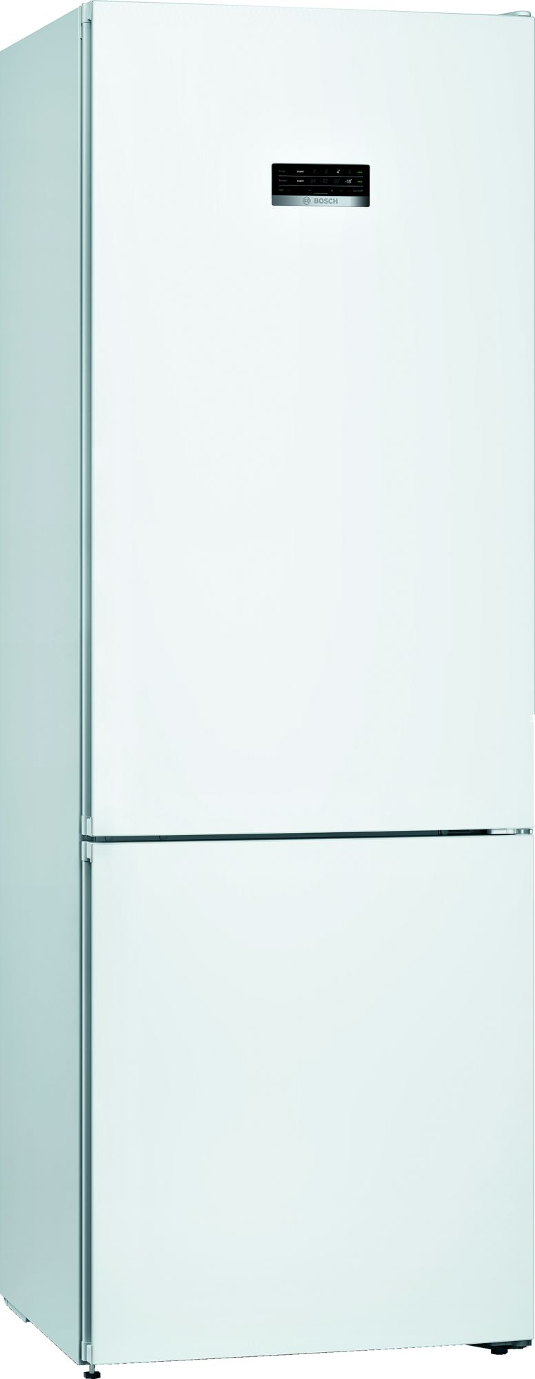 Bosch Serie 4 KGN49XWEA frigorifero con congelatore Libera installazione 438 L E Bianco
