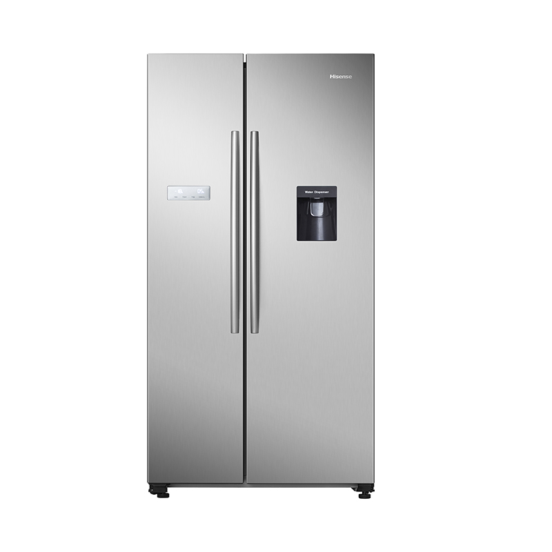 Hisense RS741 frigorifero side-by-side Libera installazione 578 L F Acciaio inossidabile