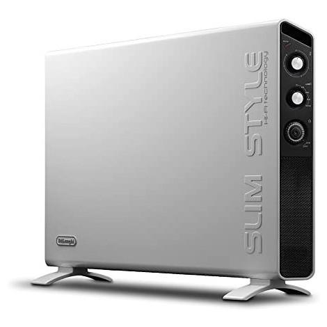 De Longhi HCX3220FTS Slim Style Termoconvettore Potenza 2000 W colore grigio