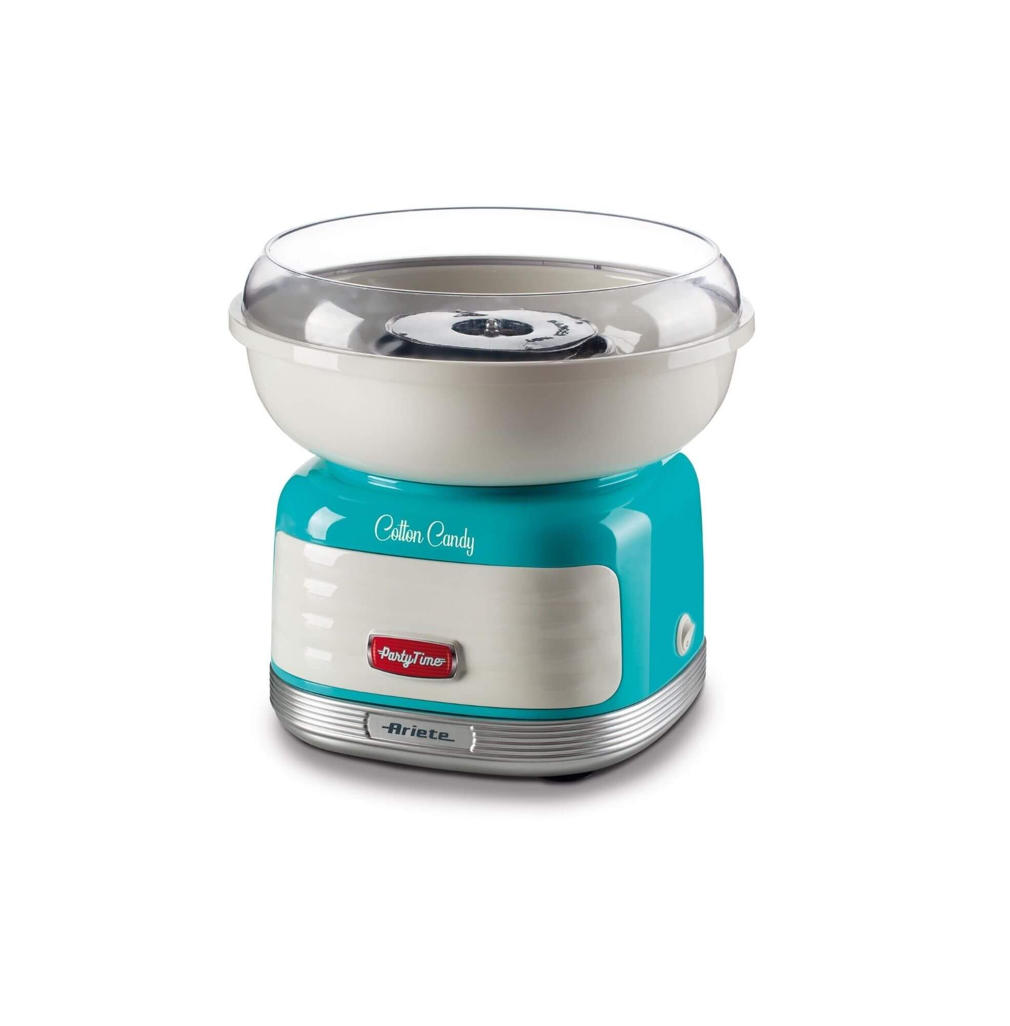 Ariete 2973 macchina per zucchero filato Blu, Argento, Bianco 450 W