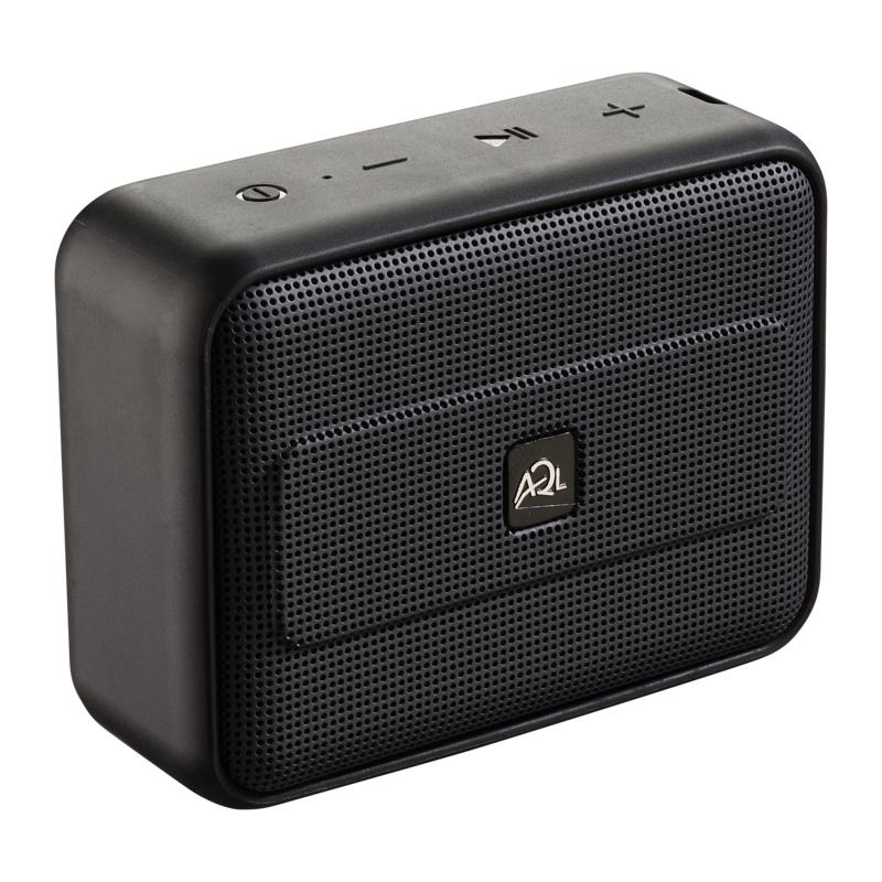 AQL Fizzy2 Speaker Bluetooth colorato resistente all'acqua Nero