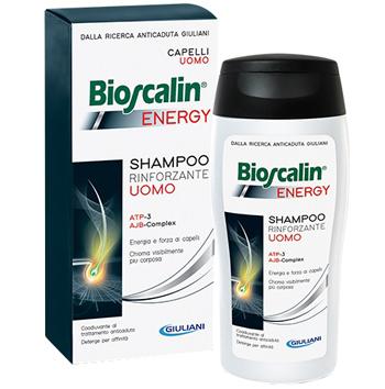 BIOSCALIN ENERGY SHAMPOO RINFORZANTE - SHAMPOO ANTICADUTA SPECIFICO UOMO