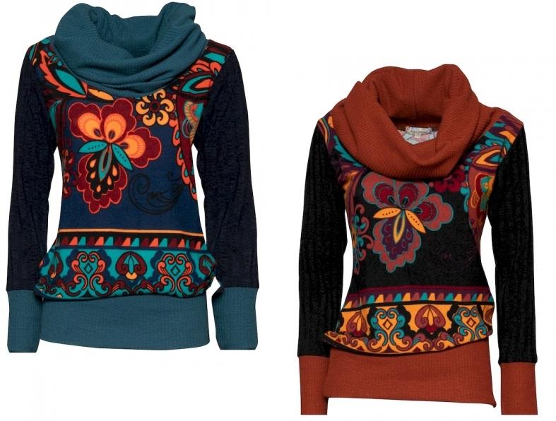 Ethnic sweater