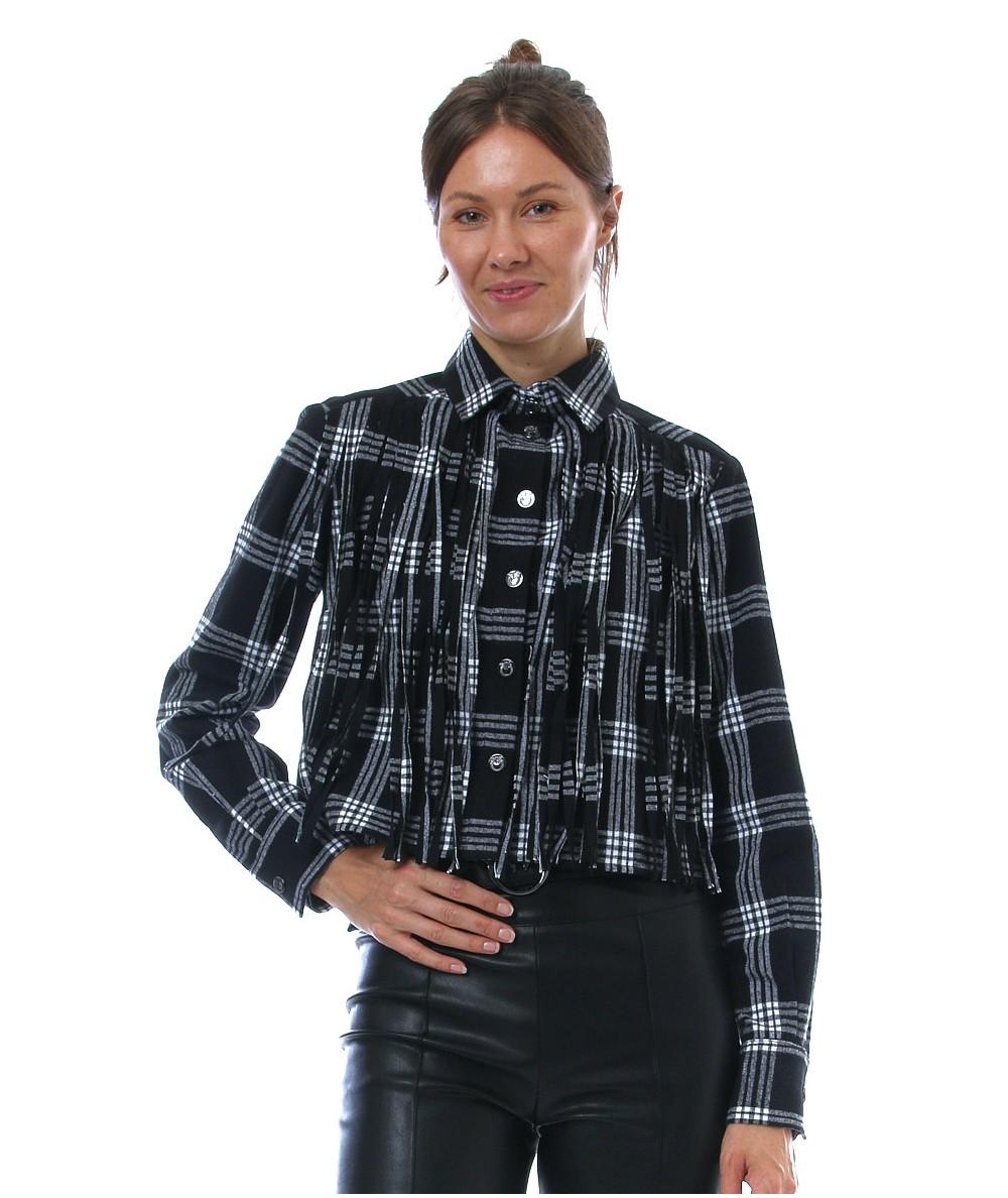 Camicia Victoria in cotone garzato Pinko