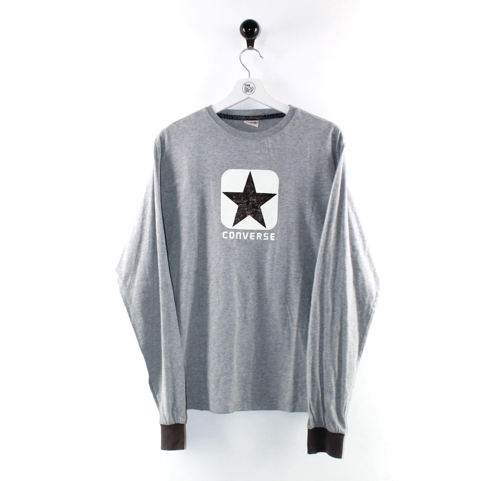 Converse - T-shirt maniche lunghe