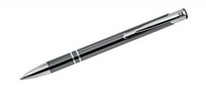 Penna alluminio grigio scuro