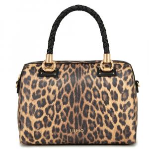 Hand bag Liu Jo MANHATTAN A69024 E0419 LEOPARDO MARR