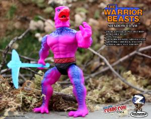 The Warrior Beasts: SHADOW CLAW by Zoloworld