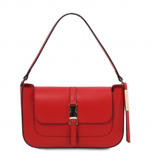 Tuscany Leather TL141959 Noemi - Pochette in pelle Rosso
