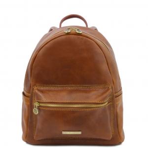 Tuscany Leather TL141979 Sydney - Zaino in pelle Giallo
