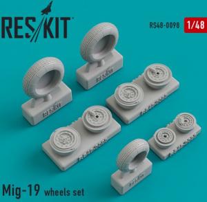Mikoyan MiG-19 wheels set