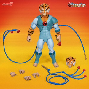 Thundercats Ultimates Action Figure: TYGRA - THE SCIENTIST WARRIOR by Super7