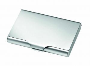 Portabiglietti alluminio