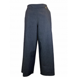 VERY SIMPLE PANTALONE DENIM CROPPED