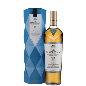 THE MACALLAN Highland Single Malt Scotch Whicky Triple Cask cl 70