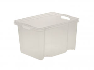 OKT Multi box m polipropilene lt13.5 trasparente Contenitori Riordino Lavanderia