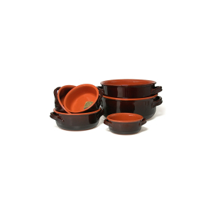 VULCANIA Casseruola 2 manici ceramica vulcania cm 32 Pentole Cucina
