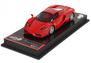Ferrari Enzo Rosso Corsa Paris Motor Show 2002 Ltd 399 Pcs - 1/43 BBR